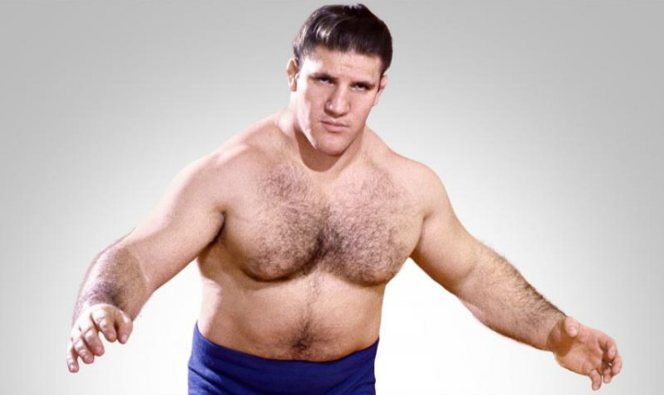 Hairy muscle wrestling