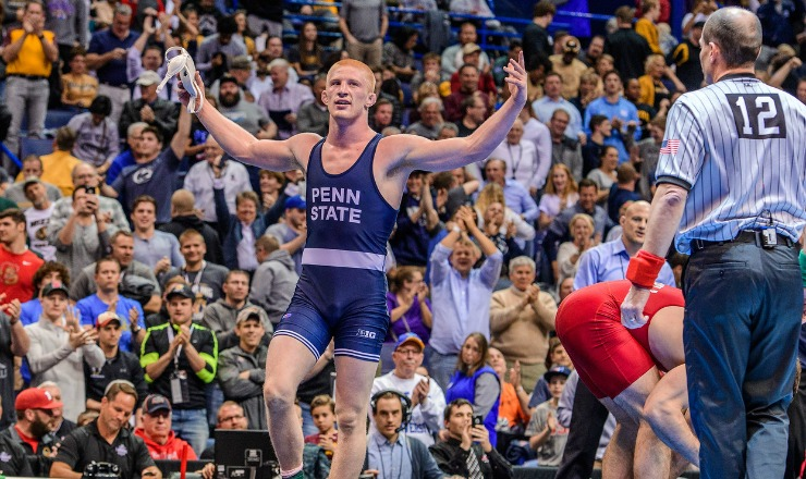 Intermat Wrestling Nickal Awarded The Hammer By Awn