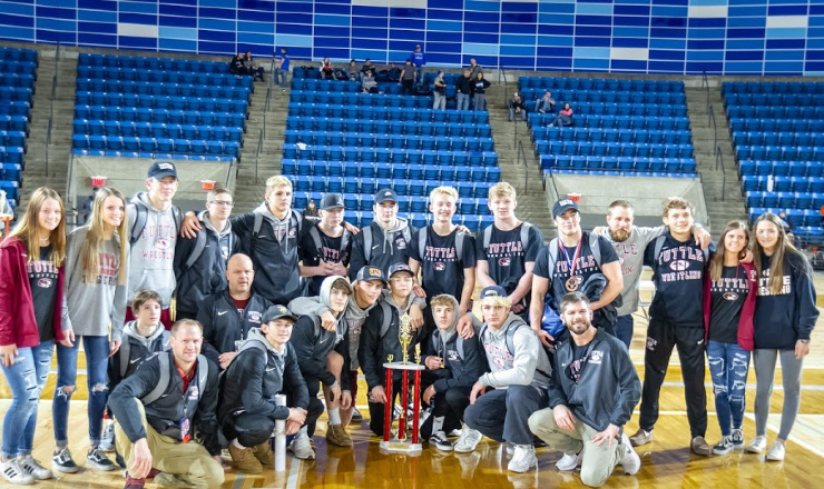 Intermat Wrestling No 16 Tuttle Wins Fourth Consecutive