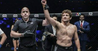 Askren wins MMA retirement bout in less than a minute