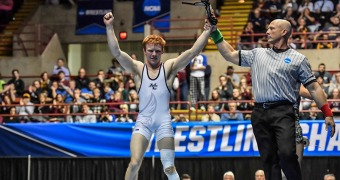 Two-time NCAA champ Malmberg named assistant coach at Dubuque