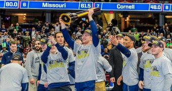 Penn State wins third straight NCAA title, crowns 4 champs