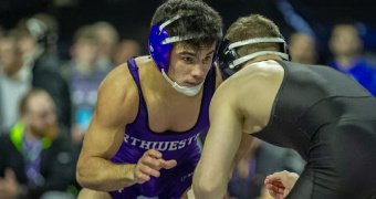 Rivera named Northwestern's Male Athlete of the Year