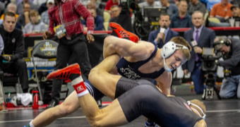 PSU extends lead at NCAAs, advances 5 to finals