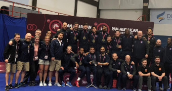 USA freestyle team sweeps all 10 Pan American gold medals