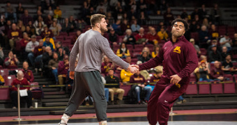Heavyweight Gunning out of NCAAs, replaced by Aven