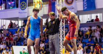Brooks, Elam punch tickets to finals of Junior Worlds