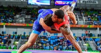 Burroughs falls short of Olympic medal in Rio