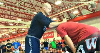 What makes a great wrestling clinician?