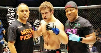 Ex-MSU wrestler Jacobs wins MMA bout