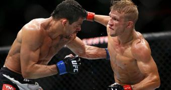 Dillashaw, Lawlor among ex-wrestler winners at UFC on FOX 16