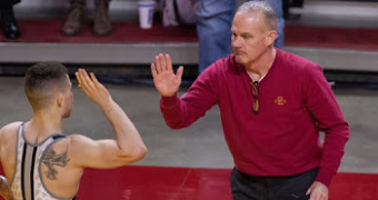 Dresser named NWCA National Coach of the Year