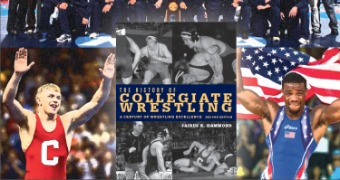 Special offer on History of Collegiate Wrestling book