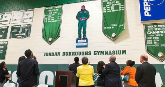 High school names gym for Jordan Burroughs