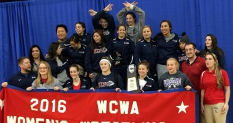 King women win third straight WCWA national title
