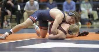 Koepke clinches dual for Illinois against Minnesota