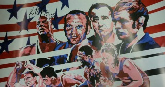 Dan Gable Museum 2016 holiday auction items