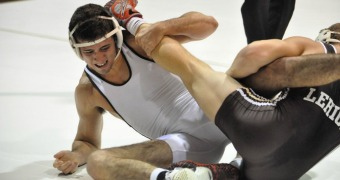 Lehigh opens season with annual Brown and White Wrestle-offs