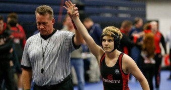 Transgender wrestler Beggs wins Texas state title