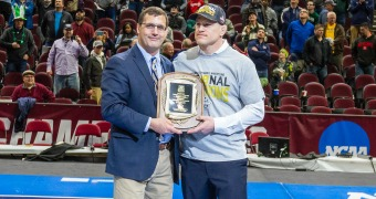 Stoll, Nickal, Sanderson earn NWCA post-event awards at NCAAs