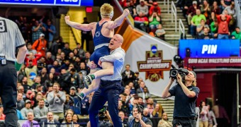 Penn State claims NCAA title, Snyder tops Coon in finale