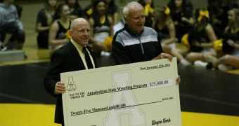 Appalachian State raises over $50K in 'Pin to Win' campaign