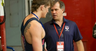 Reina returns as head wrestling coach at Penn