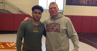 Steveson, Lesnar workout stirs speculation