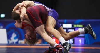LaMont, Hancock win bronze medals in Greco-Roman on Day 1 of Junior Worlds