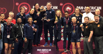 Team USA women win three golds on Saturday for Pan Am team title