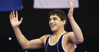 Diakomihalis wins gold at Cadet World Championships
