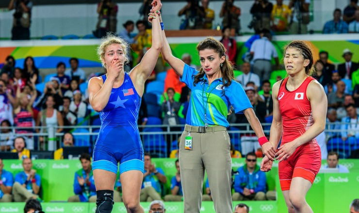 Intermat Wrestling Maroulis Becomes First American To