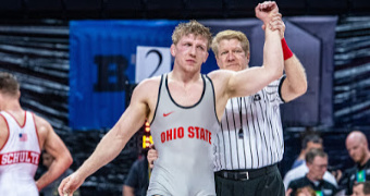 Moore named finalist for Big Ten Medal of Honor at Ohio State