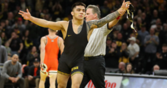 Iowa wraps up regular season with 34-6 win over Oklahoma State