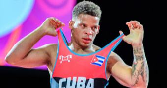 Olympic champ Borrero of Cuba tests positive for COVID-19