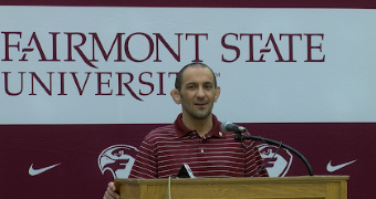 Freije introduced as head wrestling coach at Fairmont State