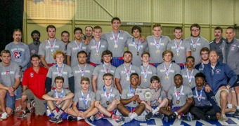 Strong Ohio lightweights close out 37-21 win over Illinois in Junior National Freestyle Duals finals